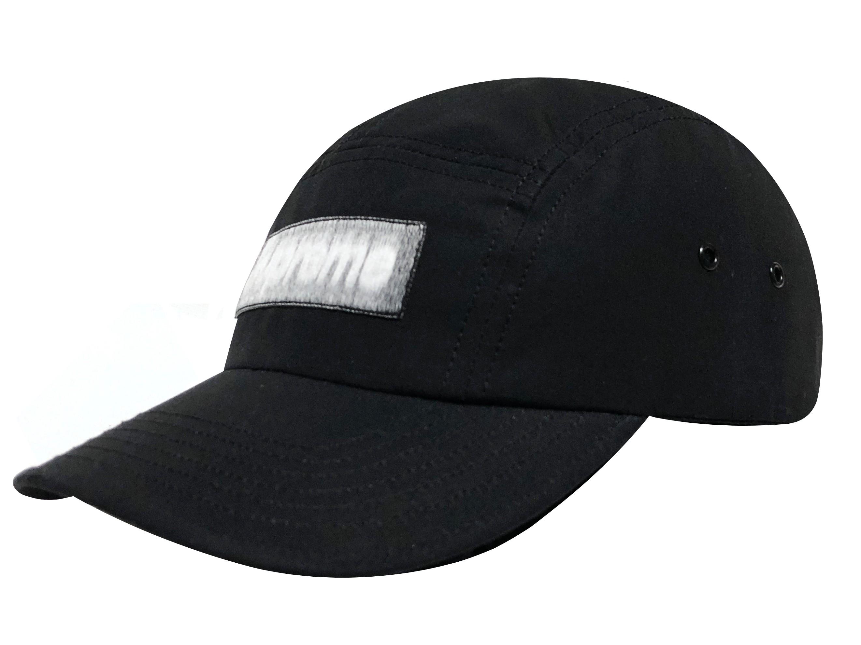 SUPREME シュプリーム 時間指定不可 21SS 新品 ブラック Reversed SALE Label Camp リバースド BLACK ボックスロゴ キャンプ キャップ ラベル Cap 撥水加工