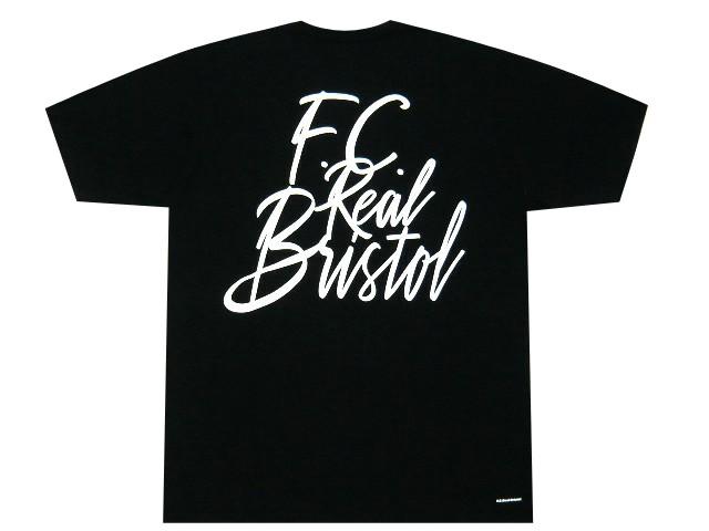 SOPHNET. ソフ F.C.Real Bristol エフシーレアルブリストル 19AW 新品 黒 TAGGING TEE バックプリント 半袖 Tシャツ F.C.R.B ブラック BLACK