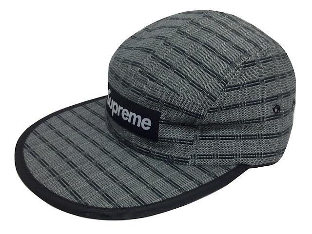 SUPREME シュプリーム 16SS 新品 黒 Nepal Woven Fitted ボックスロゴ 贈答 ネパール Cap 再販ご予約限定送料無料 Camp キャンプ BLACK キャップ