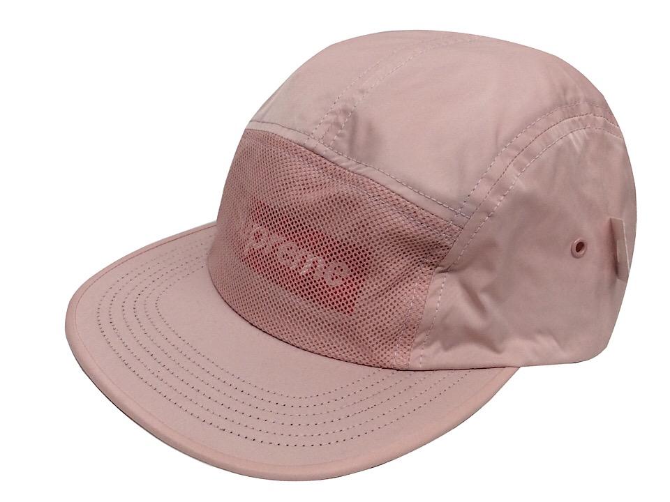 SUPREME シュプリーム 17SS 新品 ピンク FRONT MESH camp cap フロントメッシュ キャンプ キャップ PINK ボックスロゴ 送料無料