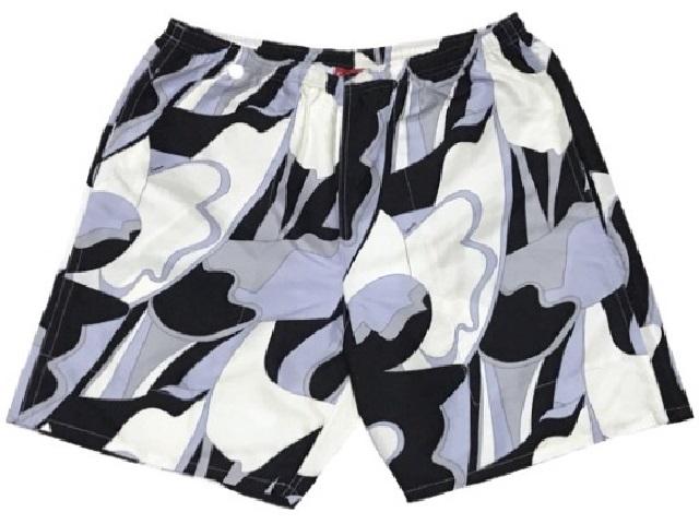SUPREME シュプリーム ★ 16SS 新品 ブラック 水着 アブストラクト ウォーターショーツ Abstract Water Shorts 短パン 半ズボン BLACK 黒