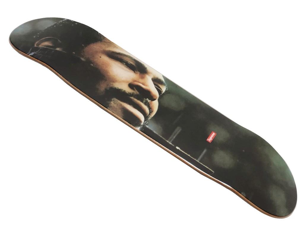 SUPREME シュプリーム ★ 18AW 新品 黒 Marvin Gaye Skateboard  skateboard decks マービンゲイ スケートボード スケボー デッキ Multicolor