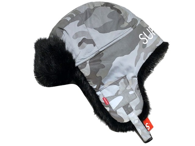 SUPREME シュプリーム ★ 18AW 迷彩 Reflective Camo Trooper リフレクティブ トゥルーパー SNOW CAMO
