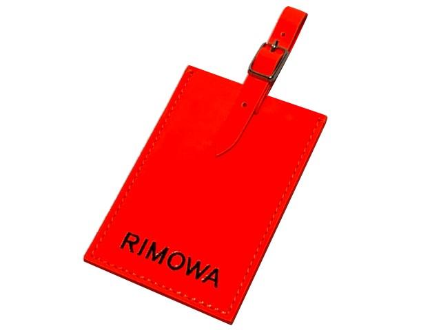 RIMOWA x AMBUSH リモワ x アンブッシュ 店舗限定 19SS 新品 LUGGAGE TAG アンブッシュ ギンザ ラゲージタグ オレンジ  ORANGE