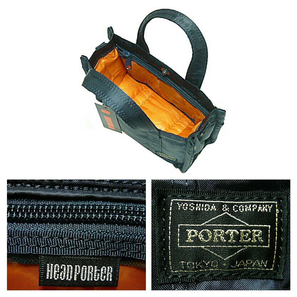 HEADPORTER 波特 15 周年紀念 ☆ 新油輪的迷你手提包回油輪原 2WAY 2WAY 手提包海軍最低