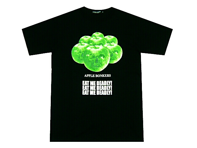 UNDERCOVERISM undercover reproduction ☆ 2013 new photoAPPLE TEE apple apple T-shirt white