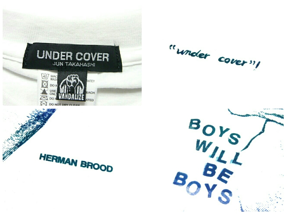 UNDERCOVER undercover VANDALIZE vandalize ☆ new early reprint t-shirts (phase 1).