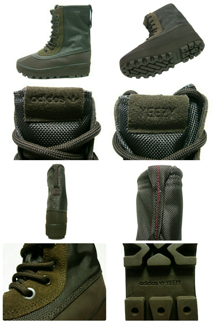 95739ee55e5 adidas Originals Kanye West adidas Kanye West easy boost ☆ 2015 new Yeezy  950 Boot Chocolate tea products-AQ 4830 Duc boots