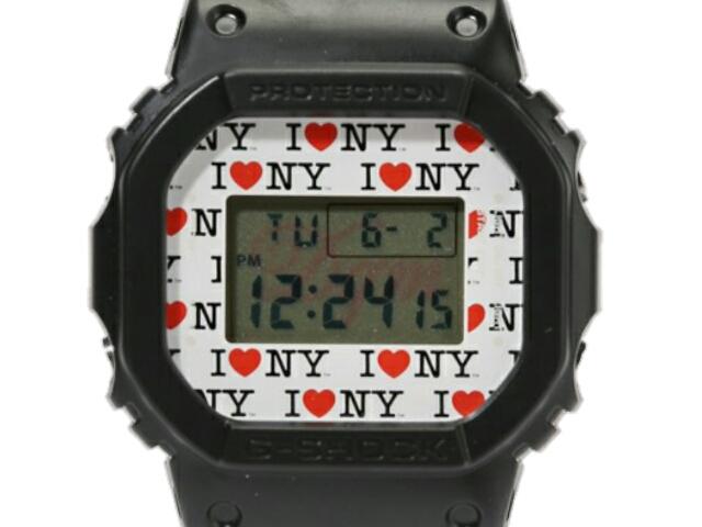 JOURNAL STANDARD x DQM x G-SHOCK CASIO カシオコラボ☆2016新品 黒 Gショック DW-5600 BLACK 腕時計 ディーキューエム
