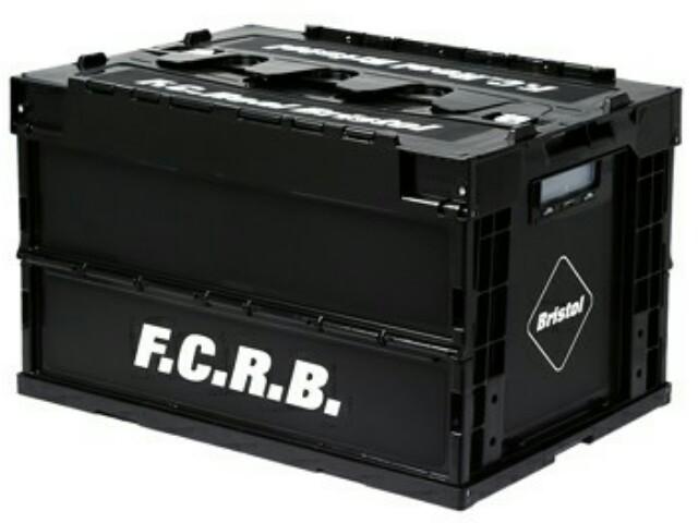 SOPHNET. ソフ F.C.Real Bristol エフシーレアルブリストル ☆2017新品 黒 コンテナ ボックス F.C.R.B. FOLDABLE CONTAINER BLACK 入れ物