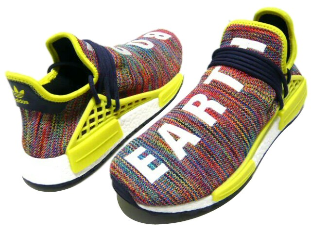 the best attitude b64b7 79df7 adidas Originals Adidas originals PHARRELL WILLIAMS Farrell human race  nomad ☆ 2017 new article multi-yellow PW HUMAN RACE NMD TR article number  ...