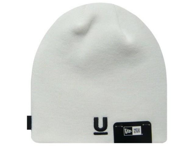 UNDER COVER アンダーカバー ニューエラコラボ 17AW 新品 白 NEW ERA U LOGO BEANIE Uロゴ ニット帽 WHITE