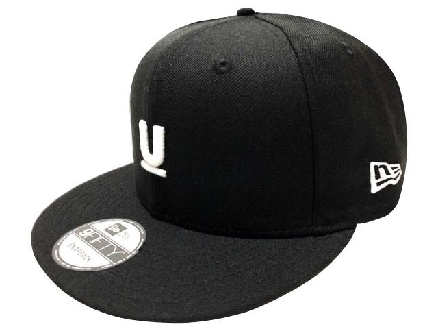 UNDERCOVER アンダーカバー ニューエラコラボ 18AW 新品 黒 NEW ERA 9FIFTY CAP U LOGO Uロゴ キャップ フラットバイザー BLACK