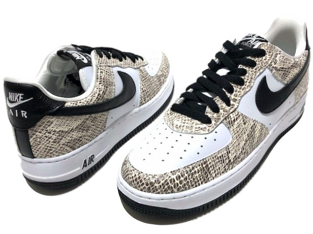 various colors d045f 3e875 NIKE AIR FORCE 1 LOW COCOA SNAKE reproduction ☆ 18AW new article pale  blue-green snake Nike air force 1 low cocoa snake article number  845,053-104 white
