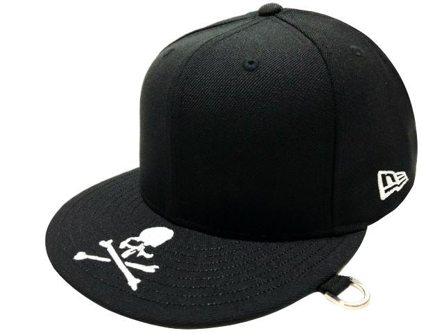 mastermind JAPAN マスターマインド ジャパン NEW ERA 59FIFTY コラボ 19SS 新品 黒 ニューエラ 帽子 刺繍 スカル BLACK