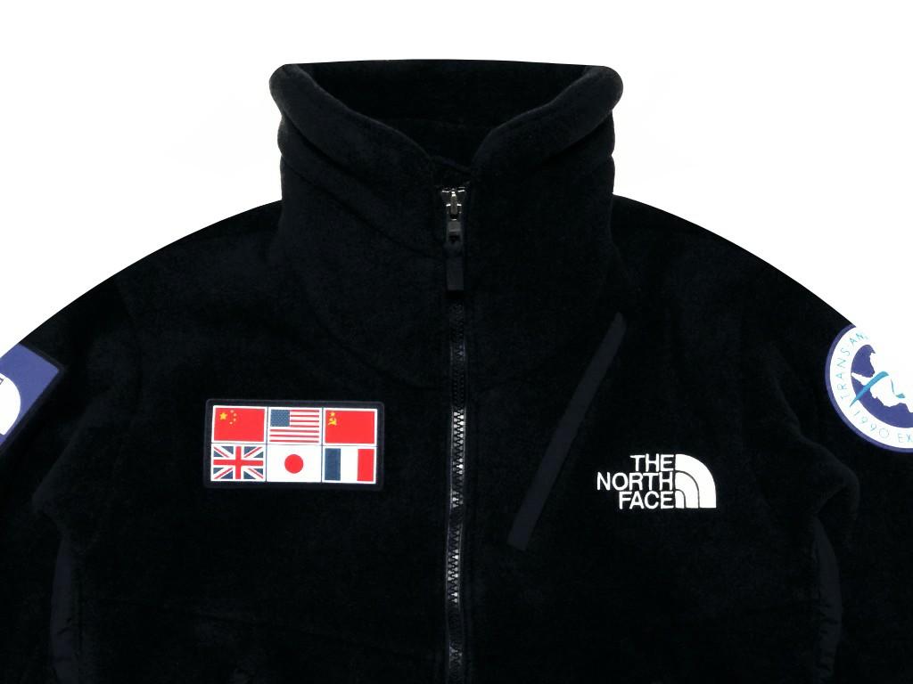 ノースフェイス トランス アンタークティカ フリース ジャケット 南極観測隊 記念モデル黒 型番 NA61930R The North Face Trans Antarctica Fleece Jacket 19AW 新品 黒 BLACK 国旗 送料無料 THINK SOUTH FOR THE NEXT