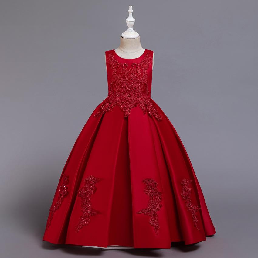 ドレス 子供 発表会 結婚式 七五三 お呼ばれ ジュニアドレス ロングドレス キッズドレス 即出荷 コンクール フォーマル 2020 限定特価