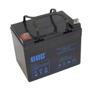 CCB社製 高性能AGMディープサイクルバッテリー 12DD-33(33Ah)(レビュー投稿お願い価格)【車中泊に最適!】