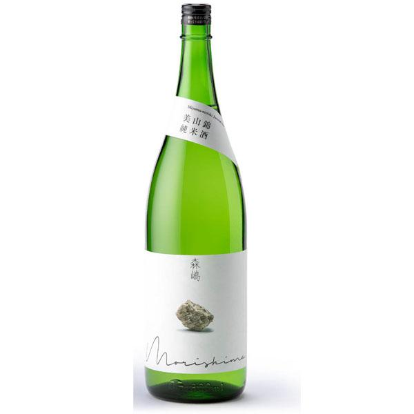日本酒を飲む時間を 日本正規品 もっともっと幸せな時間へ 敬老の日 プレゼント 茨城県 森島酒造 森嶋 毎週更新 純米酒 日本酒 美山錦 もりしま 1800ml お酒