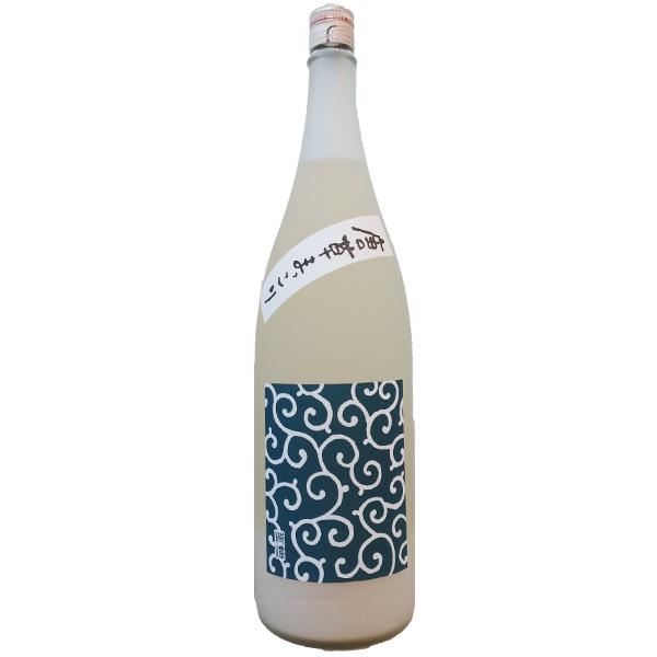 出ました 和まっこり 酒造技術を集結した地酒蔵だからできる日本人に合うマッコリ誕生です 敬老の日 プレゼント 国内送料無料 福岡県 ~特濃~ お酒 浜地酒造 マッコリ 唐草まっこり 5☆好評 1800ml