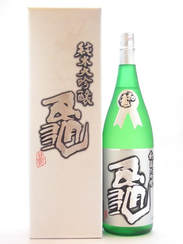 日本酒 ギフト 静岡県 初亀醸造 初亀【はつかめ】 純米大吟醸 亀 1800ml【要冷蔵】 【日本酒】