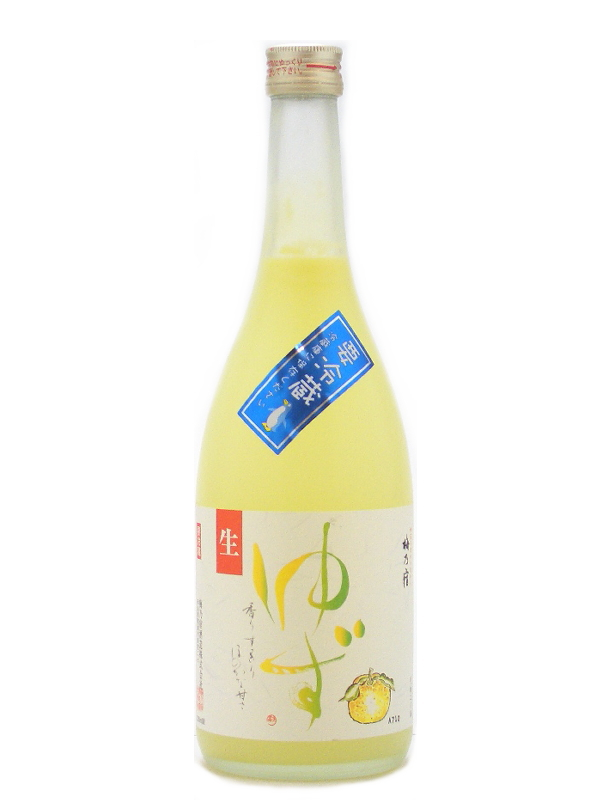 NARA plum] Inn still cool yuzu students 720 ml yuzu sake summer specials