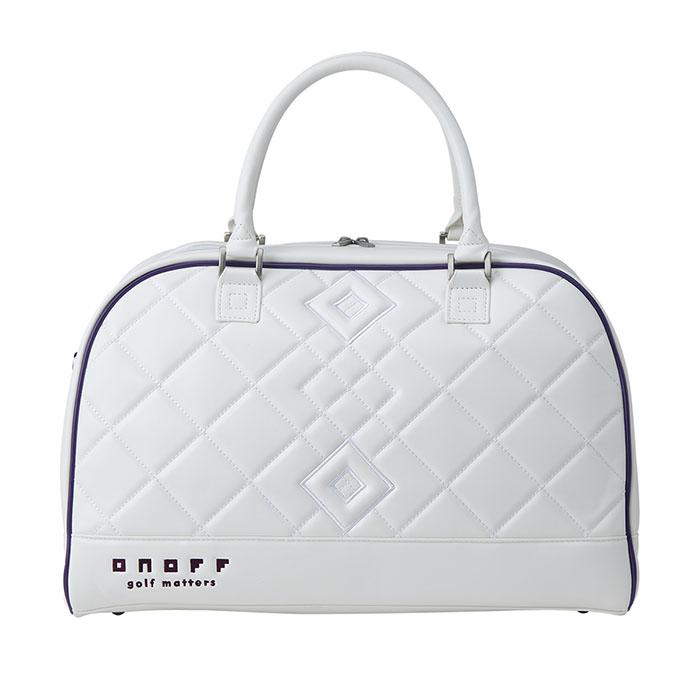正規認証品!新規格 エレガントでスポーティなトートバッグ 2021年モデル オノフ ゴルフ レディストートバッグ ONOFF Tote ラッピング無料 OV7921 Bag