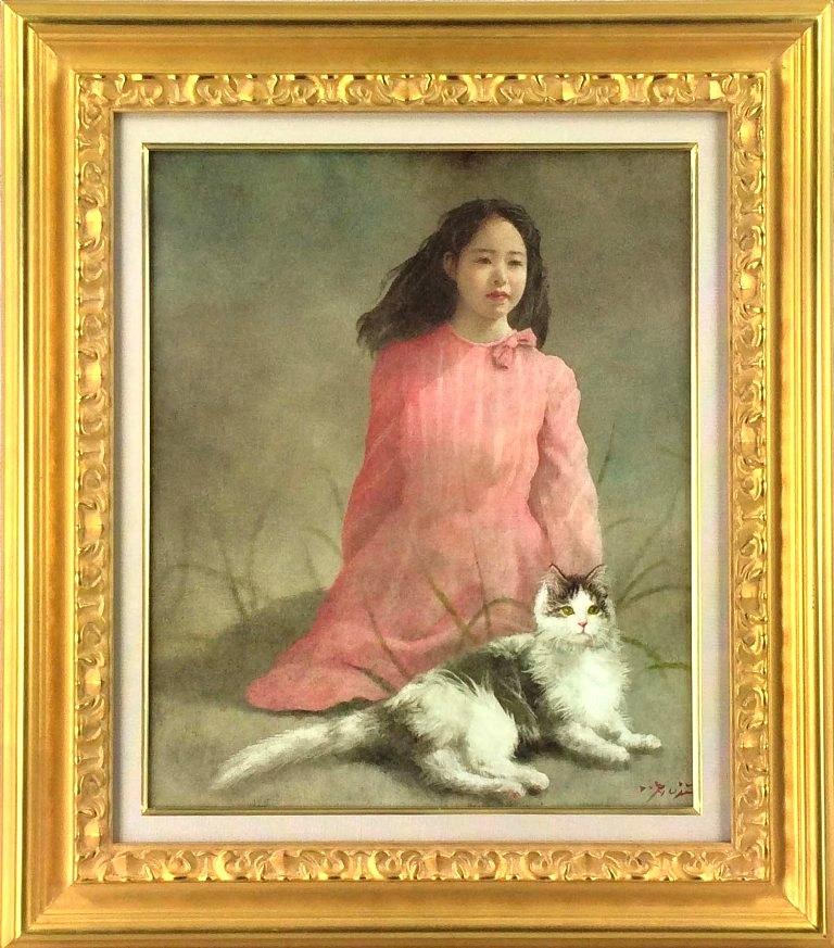 藤井 勉 「マリーの日」 油彩8号