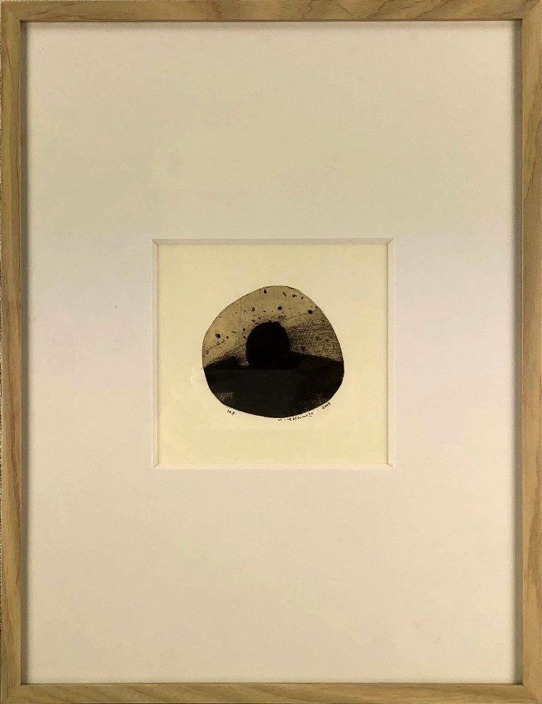 橋本尚次 北の湿原 店内全品対象 銅版画 特別セール品