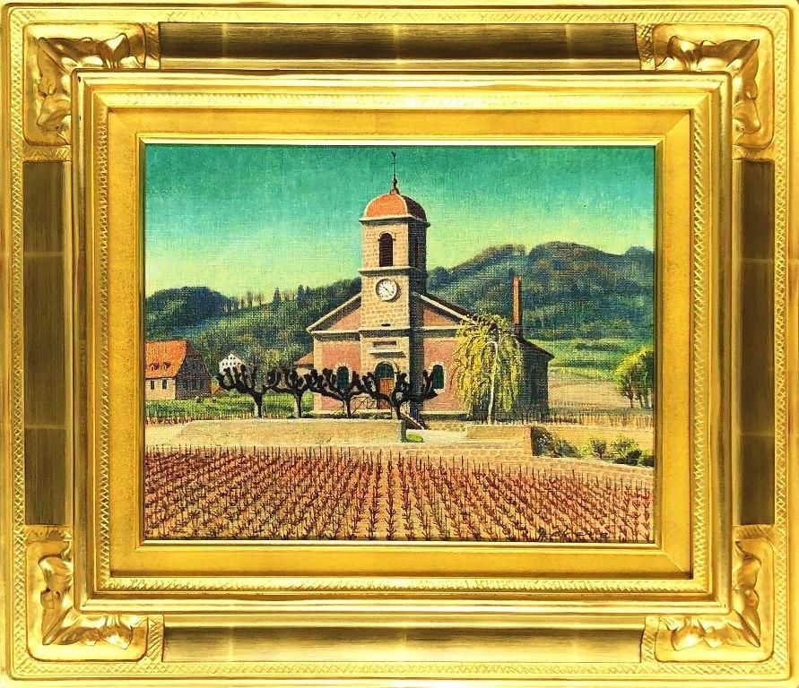 最高の品質 中根 寛 中根 「春の聖堂(スイス)」 油彩6号, ちょいプラ天然石パワーストーン館:fc22354f --- easassoinfo.bsagroup.fr