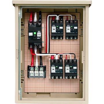 【法人限定】5A-4M10TB (5A4M10TB) 未来工業 屋外電力用仮設ボックス 主回路・中継回路用