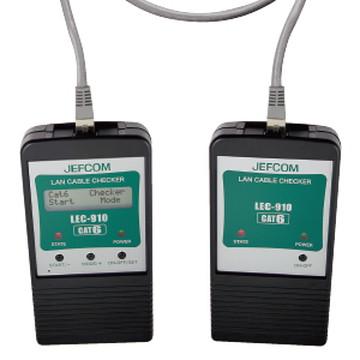 LEC-910 [ LEC910 ]【ジェフコム】LANケーブルチェッカー【返品種別B】
