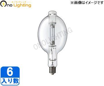 【岩崎】(6個セット)M1000B/BD[M1000BBD]アイ マルチメタルランプ(透明形)【返品種別B】