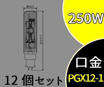 【パナソニック】(12個セット)MT250FE-W-PG/N[MT250FEWPGN]スカイビーム 拡散形 片口金 PG形【返品種別B】