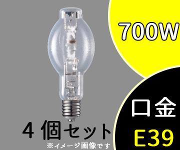 【パナソニック】(4個セット)M700L/BHSC/N[M700LBHSCN]マルチハロゲン灯 SC形 水平点灯形透明形 (Lタイプ・水銀灯安定器点灯形)【返品種別B】