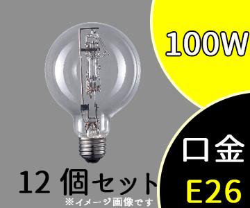 【パナソニック】(12個セット)BH100-110V100WC/N[BH100110V100WCN]バラストレス水銀灯(ボール形) 100形 透明形【返品種別B】