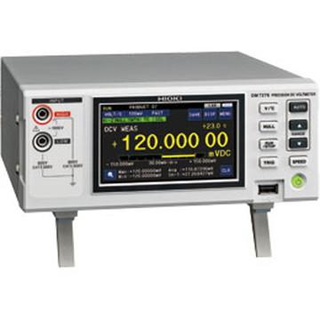 【法人限定】DM7275-02 (DM727502) 日置電機(HIOKI) 高確度 デジタルマルチメータ 直流電圧計