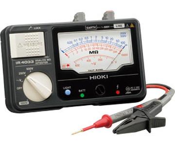 【法人限定】IR4033-10 (IR403310) 日置電機(HIOKI) アナログオーム ハイテスタIR4000シリーズ