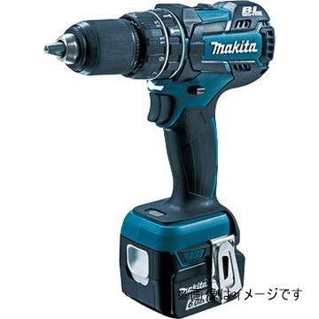 HP470DRT【マキタ】充電式振動ドライバドリル電池BL1450 2本 充電器DC18RCケース付 青【返品種別B】
