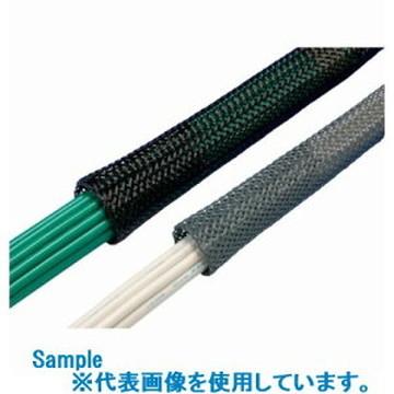 【法人限定】SF-6U-JP (SF6UJP) JAPPY 電線保護チューブ SFチューブ難燃品(グレー) 100m(1巻)