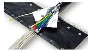 【法人限定】JNST-15H (JNST15H) JAPPY ノイズシールドチューブ 25mスナップボタンタイプ 25m(1巻)(箱入)