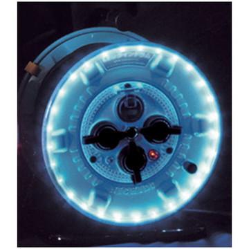 【法人限定】NPWL-EB33-B [ NPWLEB33B ]【日動工業】防雨型ドラム 防雨型LEDラインドラム(青)【返品種別B】