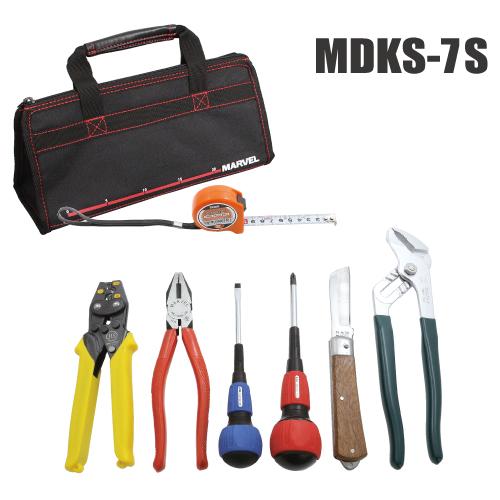 【法人限定】MDKS-7S [ MDKS7S ]【マーベル】標準工具セット(リングスリーブ 圧着小・中付)【返品種別B】