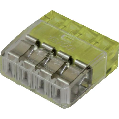 法人限定 \11 セール特価 000 税込 以上で送料無料 QLXMC-4 30個セット ニチフ 毎週更新 細線用差込コネクタ極数4 QLXMC4