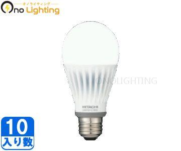 【日立】(10個セット)LDA11D-G/100C[LDA11DG100C]広配光タイプ 昼光色 E26口金旧品番:LDA15D-G【返品種別B】