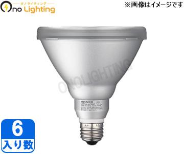 【日立】(6個セット)LDR11L-W/100C[LDR11LW100C]LED電球 ビーム球E26口金 電球色相当CRF110V80W代替【返品種別B】