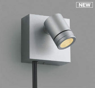 AU92271【コイズミ照明】DC24VエクステリアスポットライトLED(電球色)【返品種別B】