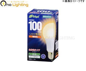 【法人限定】【オーム電機】LDA12L-G AG22 [ LDA12LGAG22 ] LED電球 E26 100形相当 電球色【返品種別B】