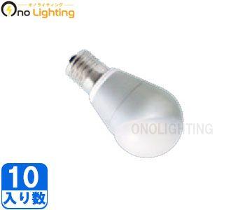 【パナソニック】(10個セット)LDA6L-E17/BH[LDA6LE17BH]LED電球(小形電球タイプ6.0W)電球色相当 斜め取付け専用E17口金クリプトン電球25W~30W相当【返品種別B】