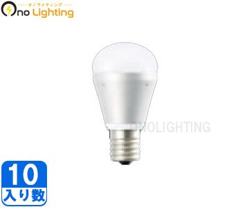 【パナソニック】(10個セット)LDA6L-E17/D[LDA6LE17D]LED電球(小形電球タイプ6.4W)電球色相当 下方向タイプ(調光器対応)E17口金クリプトン電球25W~30W相当【返品種別B】